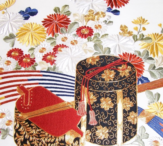 Japanese Embroidery Hawkwood College Course Jackie Hall