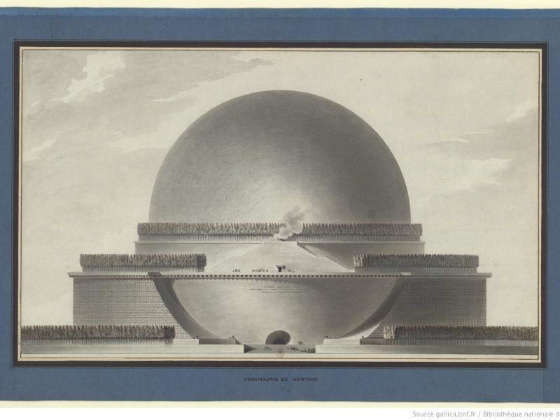 20-113 poetics of architecture newtons cenotaph