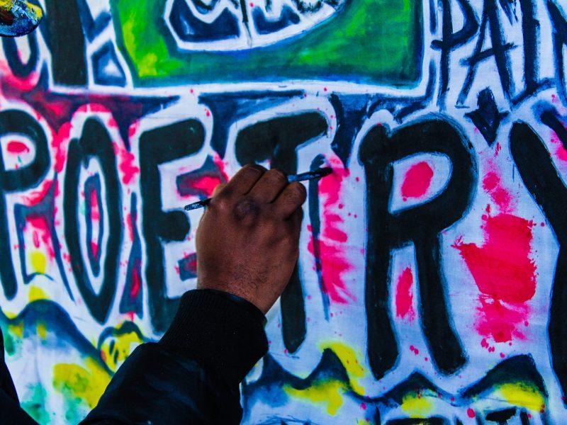 poetry graffiti drew dellinger